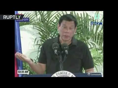 Hitler massacred 3 million Jews, I'd be happy to slaughter 3 million drug addicts - Duterte
