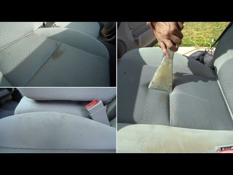 Cleaning 9 Year Old Car Seats