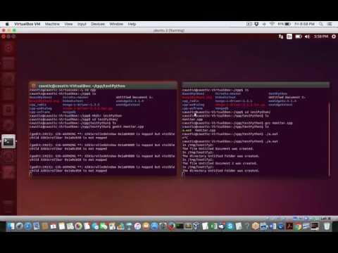 Simple Demo of C++ calling Python scripts