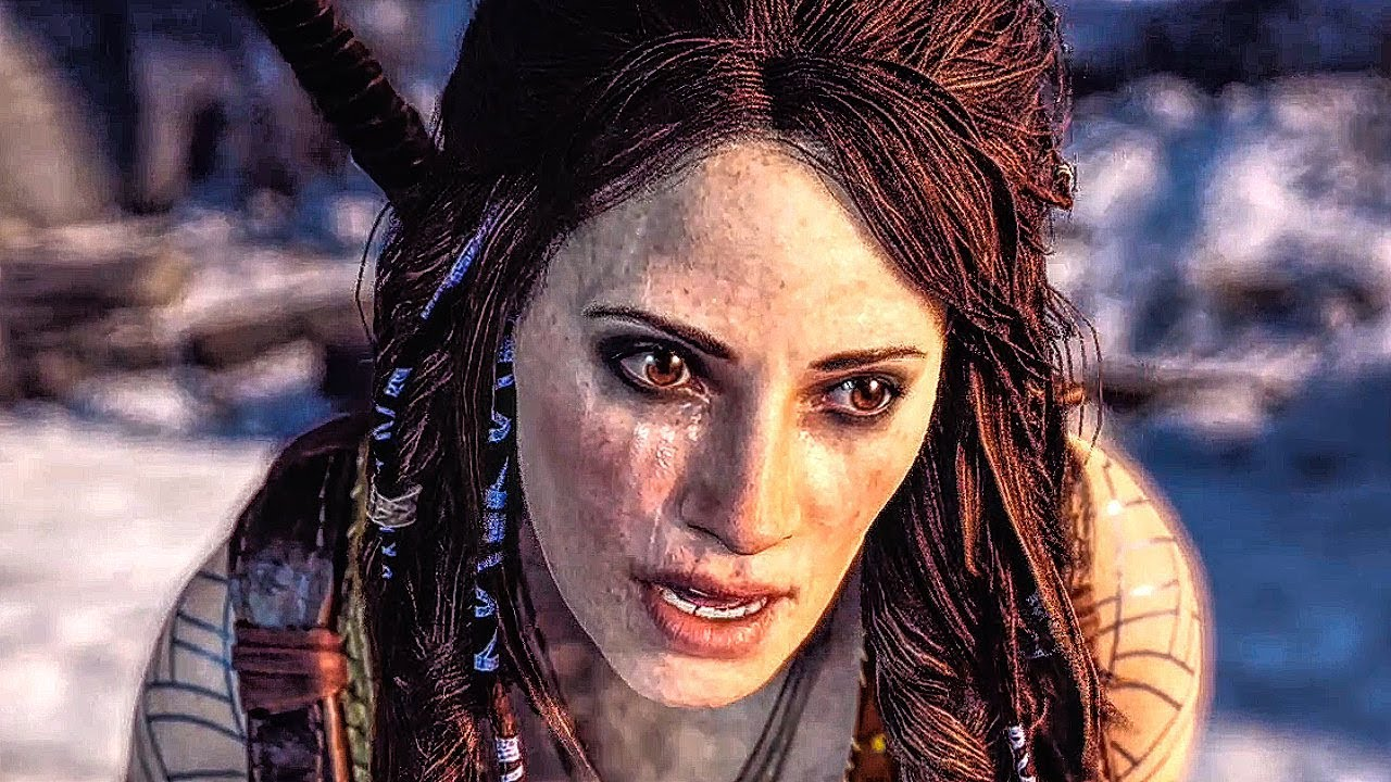 GOD OF WAR 4 All Freya Scenes (PS4 PRO 60FPS) - YouTube