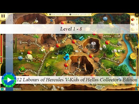 12 Labours of Hercules V-Kids of Hellas CE - Level 1-8  