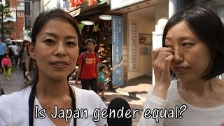 Japanese Women on Gender Gap in Japan (Interview)