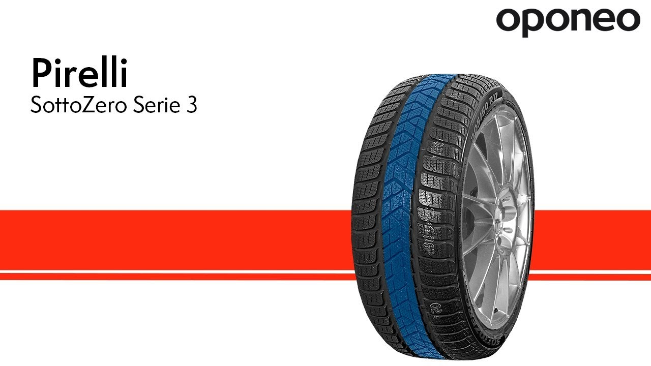 Opona Pirelli Sottozero Serie 3 Opony Zimowe Oponeo Youtube