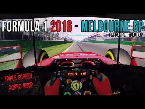 Formula 1 2016 Australian GP - Circuit de Melbourne  Onboard Virtual lap