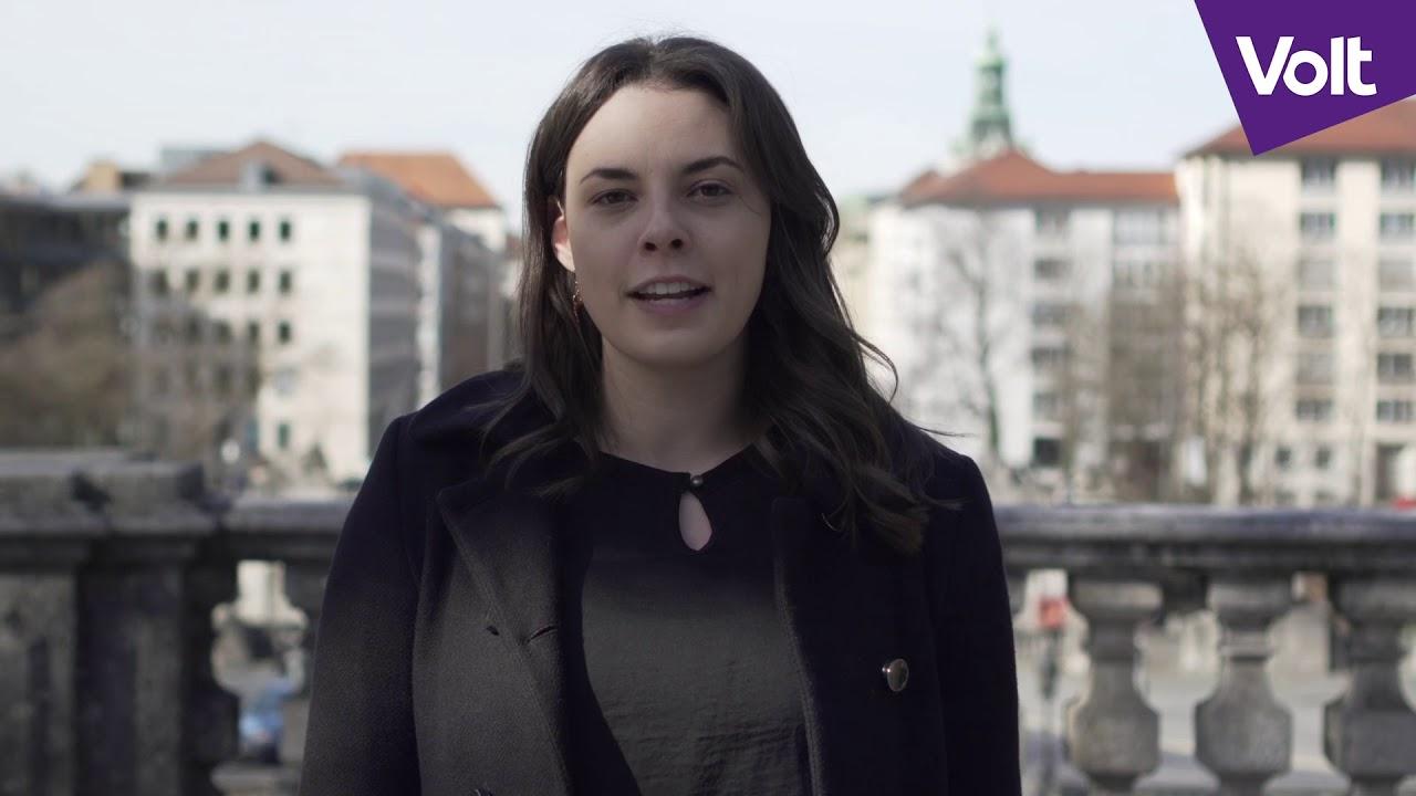 YouTube: München wähle eine neue Politik – wähle Sophie Griesbacher in den Stadtrat | #VoteVolt