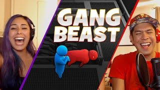 """MIND TRICKS"" Gang Beast - Husband vs Wife"