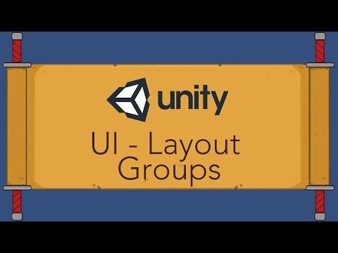 Unity UI Tutorial - Layout Groups