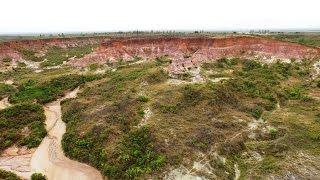 Madagascar Majunga  cirque rouge national park