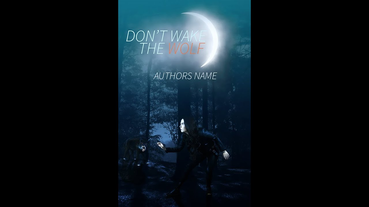 Wattpad Speed Cover: Don't Wake the Wolf