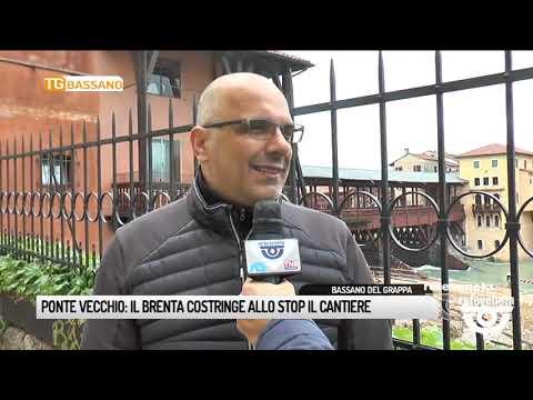 TG BASSANO (24/04/2019) - PONTE VECCHIO: IL BRENTA...