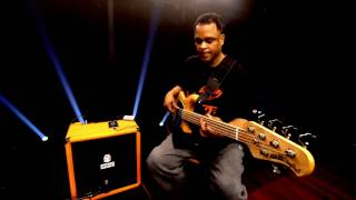 Orange Crush Bass 100 Combo - Mark A. Walker Demo