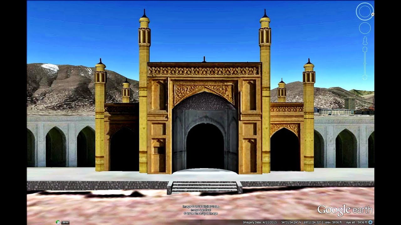 Historical Places Of Afghanistan In Google Earth Part Two 23