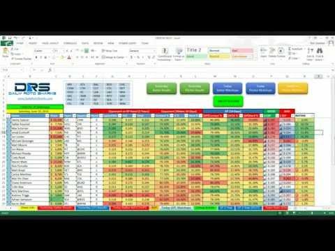 MLB Cheat Sheet Walkthrough Tutorial by xBenJamminx