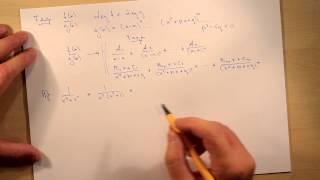 Представление рациональной функции в виде суммы простейших дробей. Тема