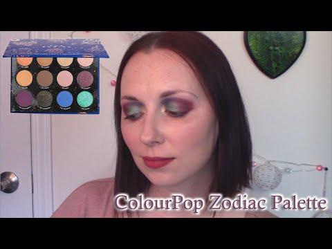 multicolour-shimmery-eyeshadow-tutorial-|-colourpop-zodiac-palette