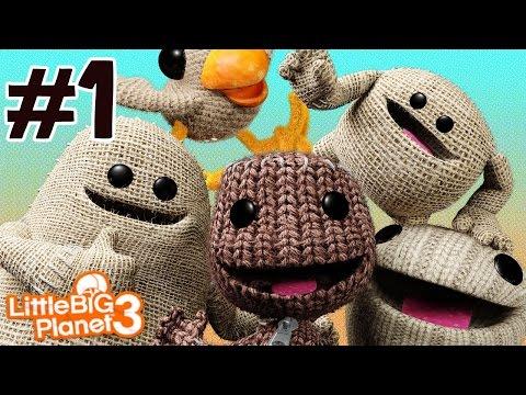 Zagrajmy w Little Big Planet 3 (PS4) odc.1 Bunkum