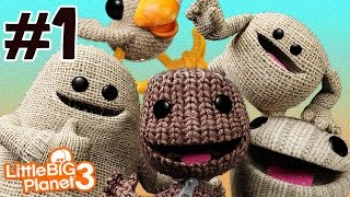 Zagrajmy w Little Big Planet 3 (PS4) odc.1 Bunkum