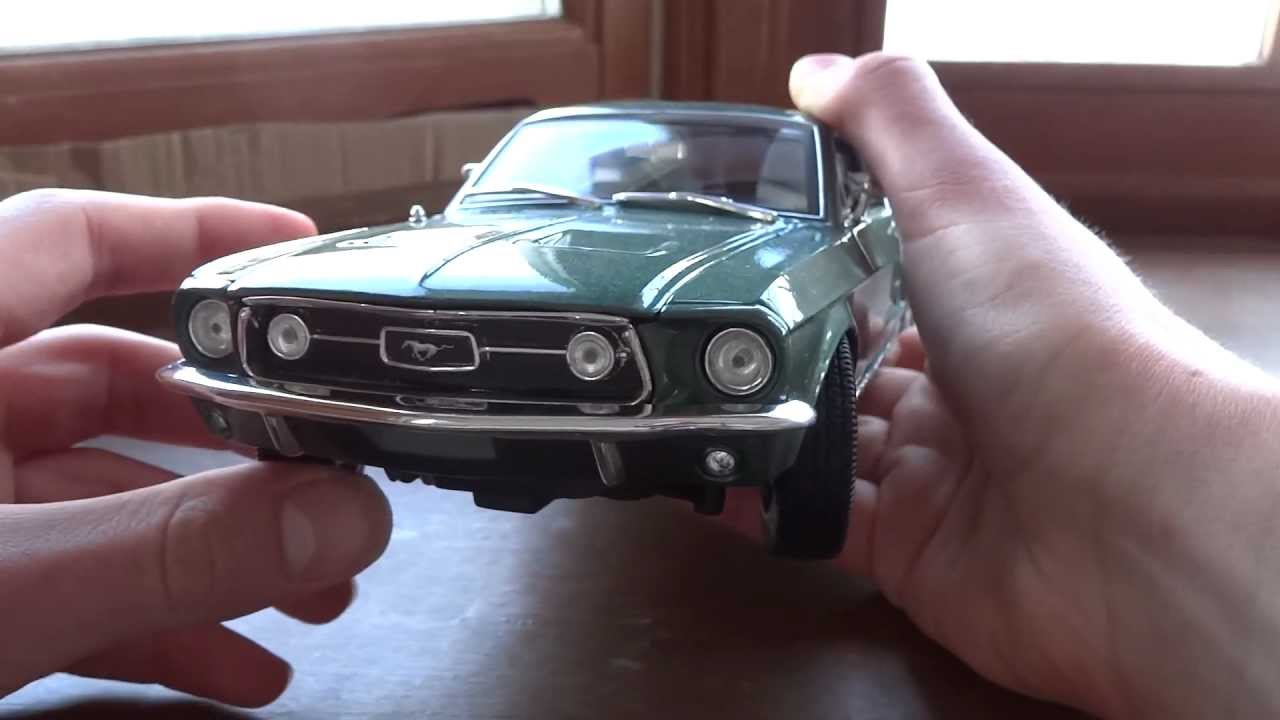 Review of 1 18 ford mustang gta 1967 by maisto