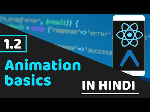 Animation basics | interpolate | animations in react native | react native tutorial in hindi thumbnail