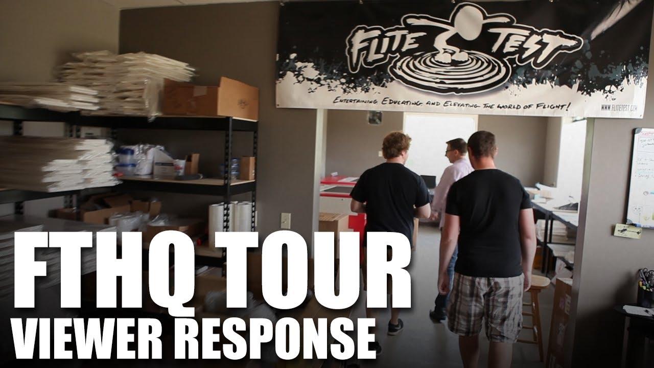 Flite Test - FTHQ Tour - Viewer Response - YouTube