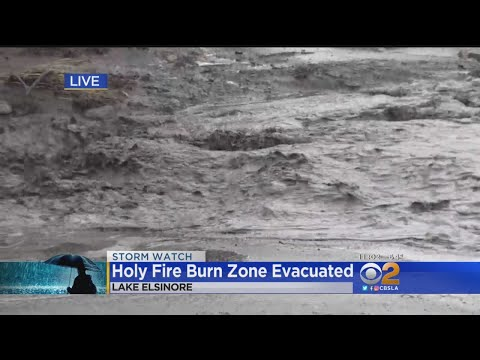 Prepared Berms Help Keep Burn Area Runoff Away From Lake Elsinore Homes