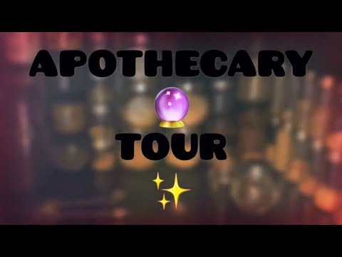 Witchy Room Tour ✧ APOTHECARY Altar Part 1