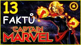 13 FAKTŮ: Captain Marvel
