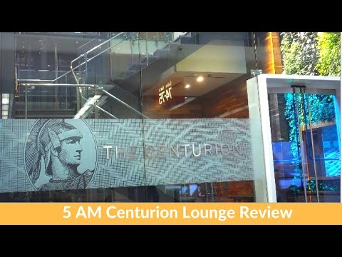 SFO Amex Centurion Lounge: 5 AM Half-Awake Edition