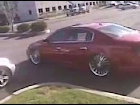 "2006 buick lucerne on air ride 24"" - YouTube"