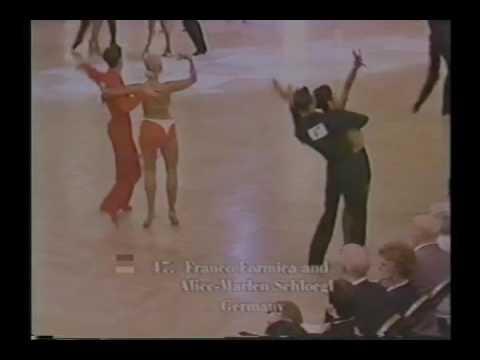 Blackpool Dance Festival 1999 Amateur Latin American Dancing