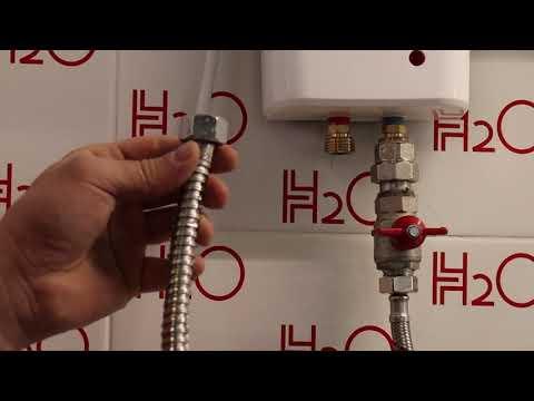 Подключение проточных водонагревателей Thermex безнапорного/отрытого типа