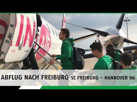 Abflug nach Freiburg | SC Freiburg - Hannover 96