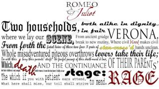 Shakespeare's Romeo And Juliet: Prologue Rap