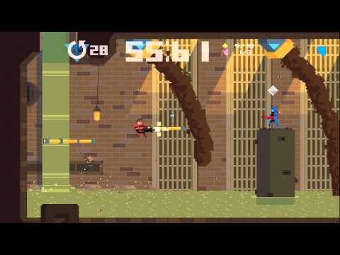 Super Time Force - XBOX ONE - 9600 BC Stage COMPLETE GAMEPLAY [HD]