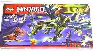 Built in 60 seconds: LEGO Ninjago Attack of the Morro Dragon 70736