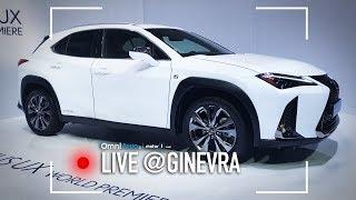 Nuova Lexus UX, da noi solo ibrida | Salone di Ginevra 2018