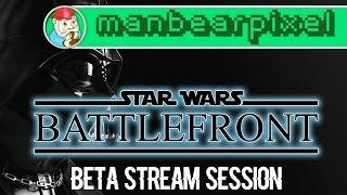 [BETA PLAY] Star Wars Battlefront PS4 Stream Recording