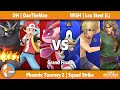 PT2 - DH | DanTheMan vs WISH | Lex Steel [L] - SSBU Squad Strike Grand Finals