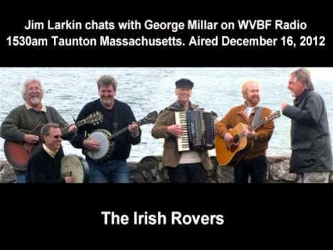 Jim Larkin Interviews George Millar Of the Irish Rovers.mpg