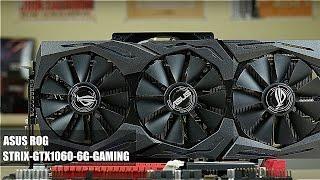 видеокарта Asus GeForce GTX 1060 ROG STRIX-GTX1060-6G-GAMING