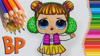 LOL surprise Куклы лол LOL dols ЛОЛ сюрприз Coloring book How to draw Учим цвета Как нарисовать