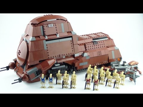 LEGO Star Wars: Trade Federation MTT 7662 Review!!!