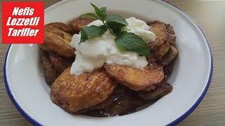 Eggplant fries with crispy eggs - Delicious Delicious Recipes