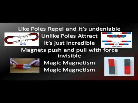 Magic Magnetism - Best video and song about magnets magnet
