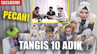 Download lagu PECAH TANGIS ADIK- ADIK  MELEPAS ATTA HALILINTAR SAAT AKAD NIKAH TANPA KEHADIRAN KELUARGA TERCINTA
