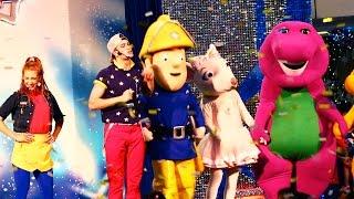 The Little Big Club Barney, Fireman Sam and Angelina Ballerina