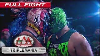 PSYCHO CLOWN vs DR  WAGNER JR  | MÁSCARA VS MÁSCARA | TRIPLEMANÍA XXV