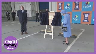 The Queen and Prince William Visit Irn-Bru Factory in Scotland
