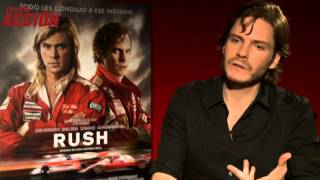Entrevista Daniel Brühl nos habla de Rush