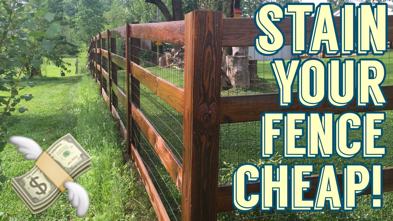 Recycled motor oil fence stain diy how to make your for Make your own fence